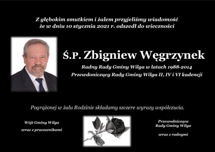 Ostatnie pożegnanie Zbigniewa Węgrzynka
